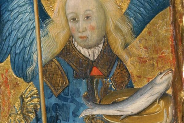 Bernat Martorell, Retaule de Sant Pere de Púbol, 1437. Detall