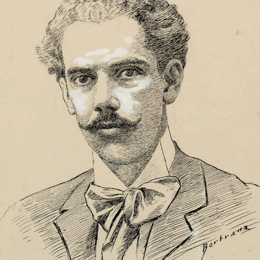 Autoretrat de Prudenci Bertrana (1905 - 1906)