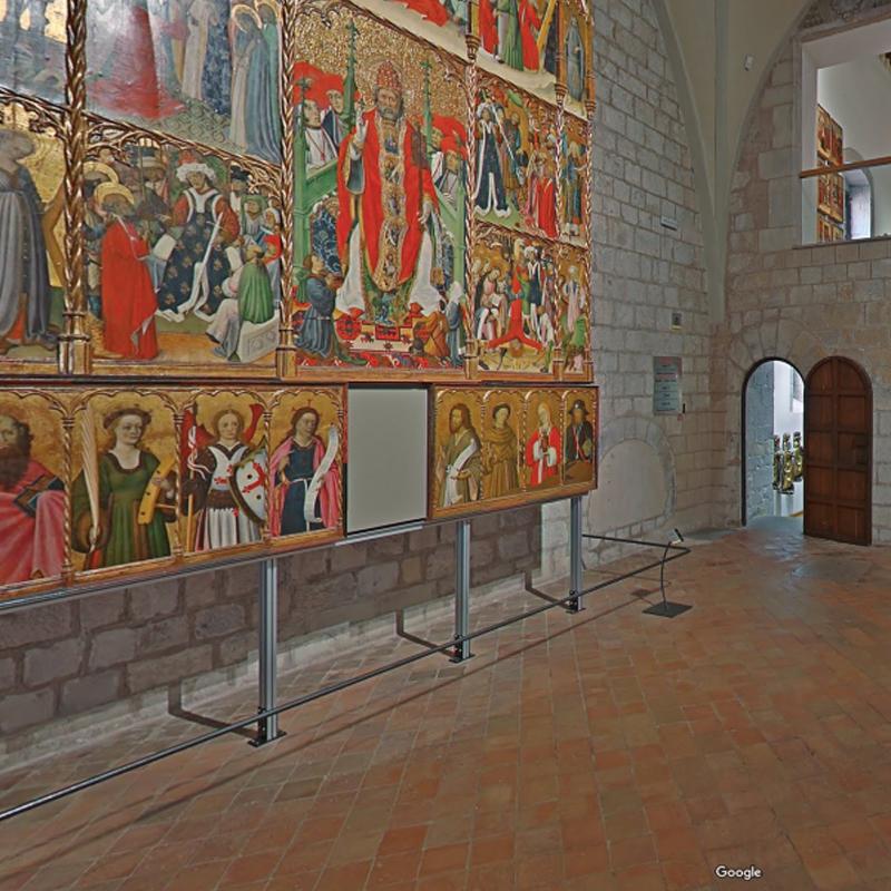 Un retaule romànic del Museu