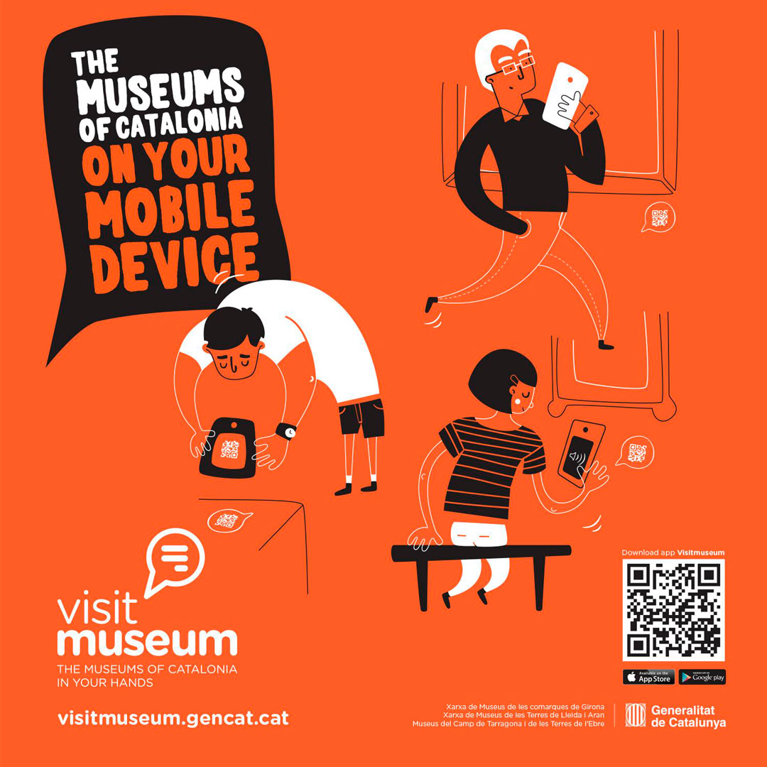 Cartell de l'app Visit Museum