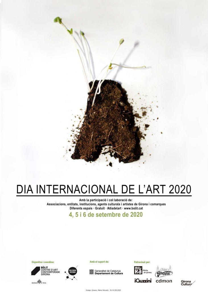 Cartell del Dia Internacional de l'Art 2020